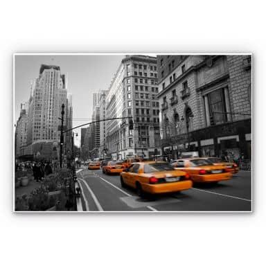 Wandbild Cabs in Manhattan
