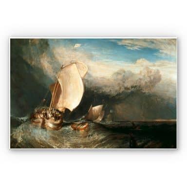 Wandbild Turner - Fischerboote