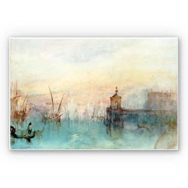 Wandbild Turner - Venedig mit erster Mondsichel