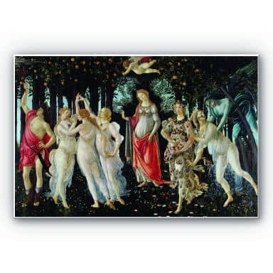 Wandbild Botticelli - Der Frühling