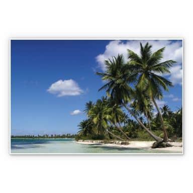Wandbild Carribean Flair