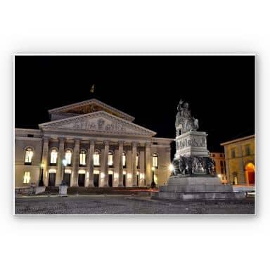 Wandbild Bayerische Staatsoper München
