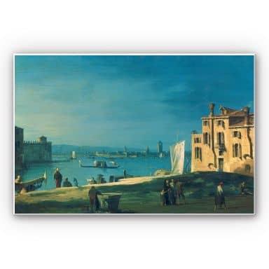 Wandbild Canaletto - Die Insel Murano