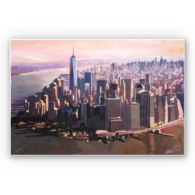 Forex print Bleichner - Manhattan Freedom