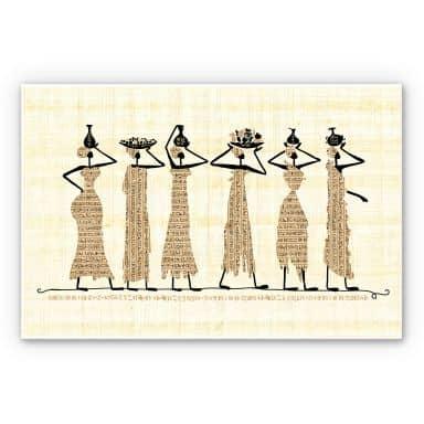 Wandbild Ägyptische Frauen