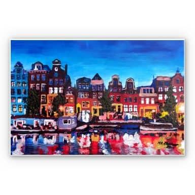 Wandbild Bleichner - Amsterdam