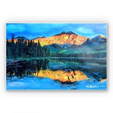 Wandbild Bleichner - Kanada - Der Jasper Nationalpark