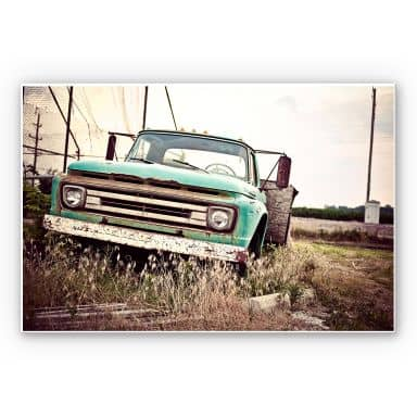 Tableau Forex - American rusted Truck