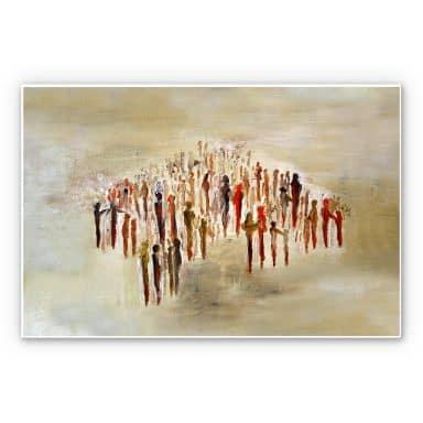 Wandbild Melz - People 02