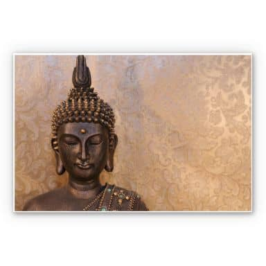 Wandbild Buddha der Weise