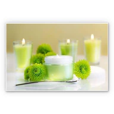 Wanddecoratie Candle Lemon