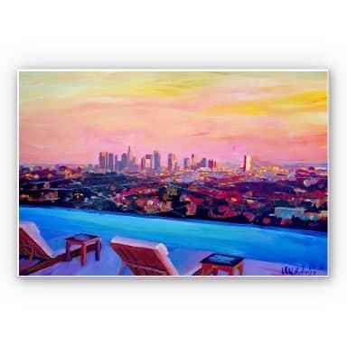 Wandbild Bleichner - Los Angeles