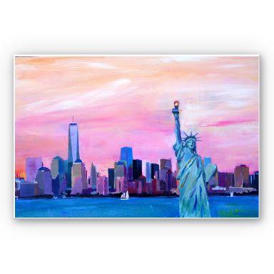 Wandbild Bleichner - New York Freiheitsstatue
