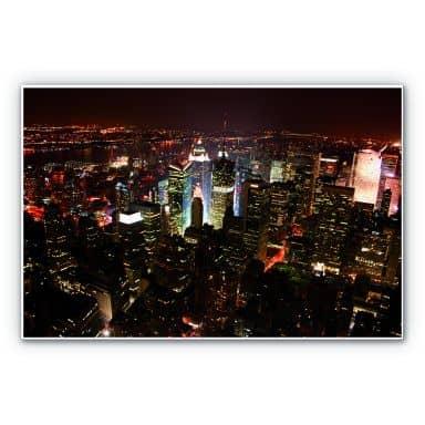 Wandbild Manhattan