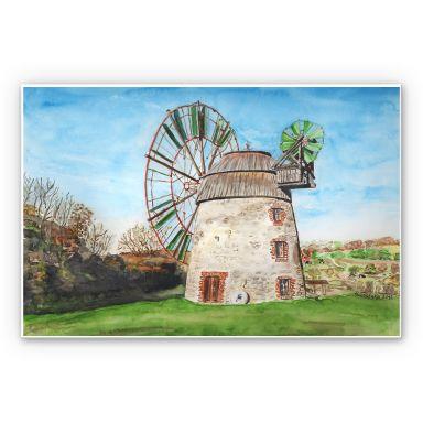 Tableau Forex - Toetzke -Moulin à vent hollandais