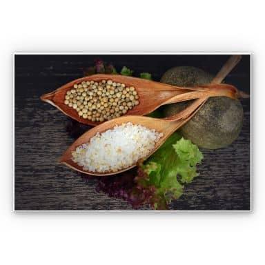 Wandbild Salt and Pepper