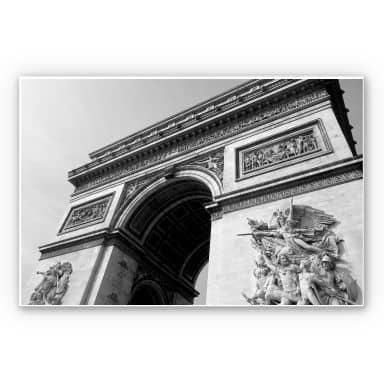 Wandbild Arc de Triomphe