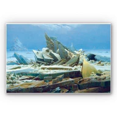Wandbild Friedrich - Das Eismeer