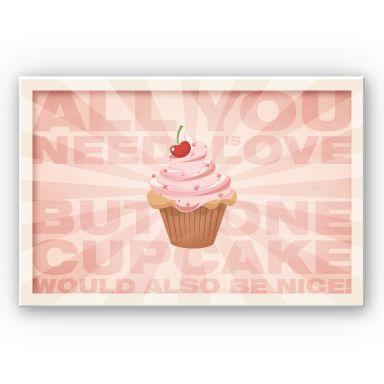 Wandbild All you need is love 02
