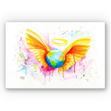 Wandbild Buttafly - Angel