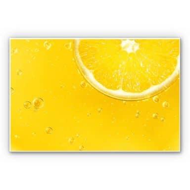 Wandbild Lemon Squeezy