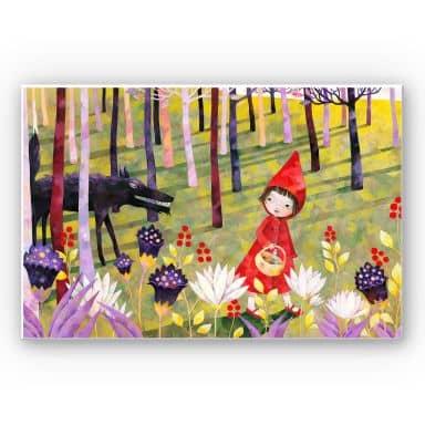 Wandbild Blanz - Rotkäppchen