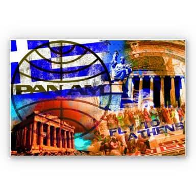 Wandbild PAN AM - Athen