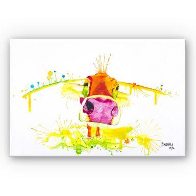 Wandbild Buttafly - Crazy Calf