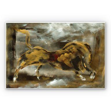 Wandbild Niksic - Der goldene Stier