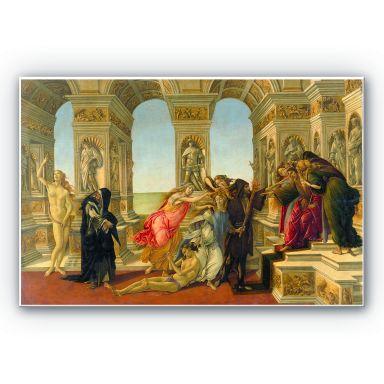 Wandbild Botticelli - Die Verleumdung des Apelles