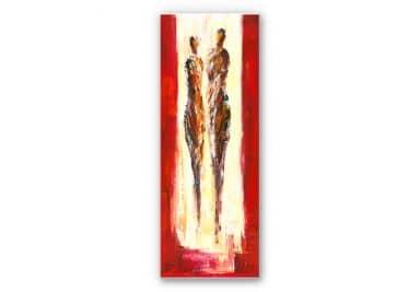 Wandbild Schüßler - Paar in Rot - Panorama