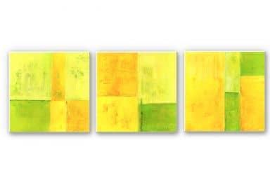 Wandbild Schüßler - Spring Composition (3-teilig)