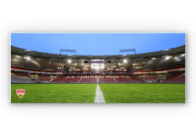 Wandbild VfB Stuttgart Arena Tribüne - Panorama