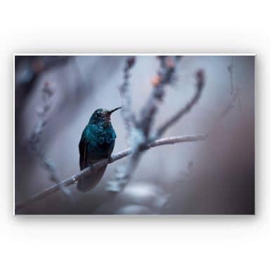 Wandbild Bravin - Electrical Blue