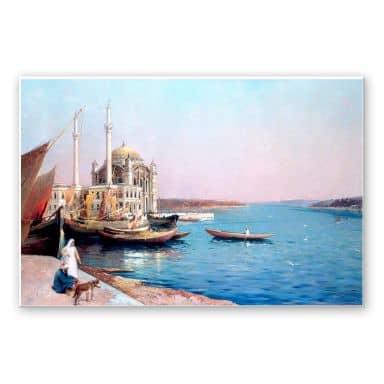 Wandbild Dellepiane - An den Ufern des Bosporus