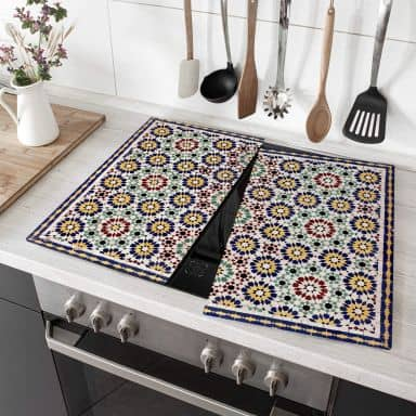 Afdekplaat Kookplaat Oriental Tiles