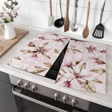 Herdabdeckplatte UN Designs - Soft Magnolia