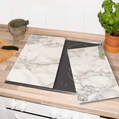 Hob Cover Marble 01