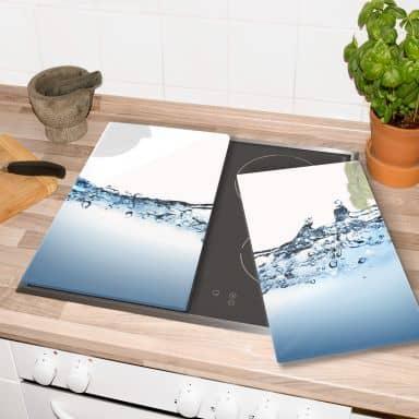 Herdabdeckplatte Water Flow
