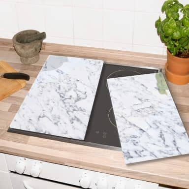 Hob Cover Marble 02