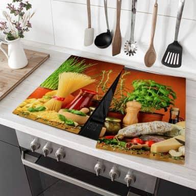 Afdekplaat Kookplaat Italian Kitchen