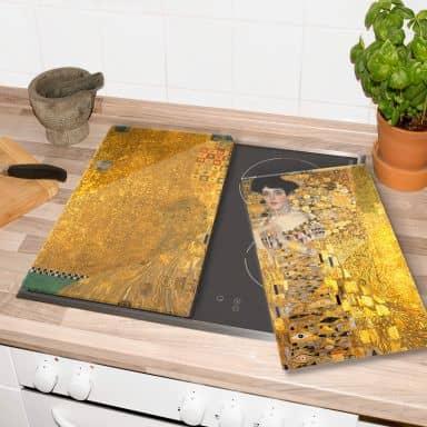 Herdabdeckplatte - Klimt - Bildnis der Adele Bloch-Bauer
