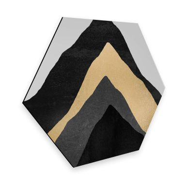 Hexagon - Alu-Dibond - Fredriksson - Vier Berge