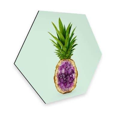 Esagoni in Alu-dibond Fuentes - Pineapple Quartz