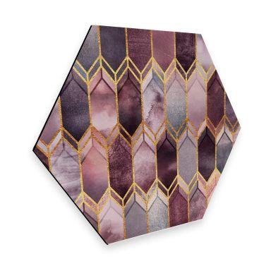 Hexagon Dibond Fredriksson - Magical Glass