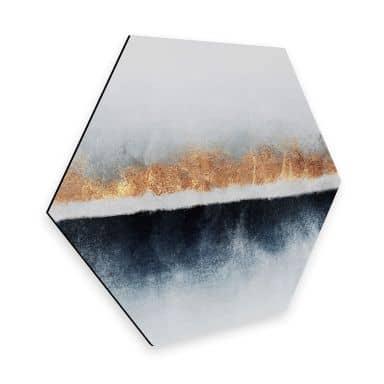 Hexagon - Alu-Dibond Fredriksson - Horizont