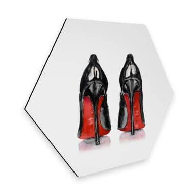 Hexagon - Alu-Dibond High Heels