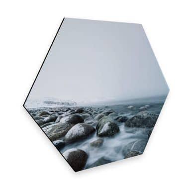 Hexagon Dibond - Tides