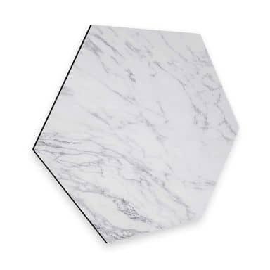 Hexagon alu-dibond - Marble