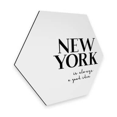Hexagon - Alu-Dibond - New York